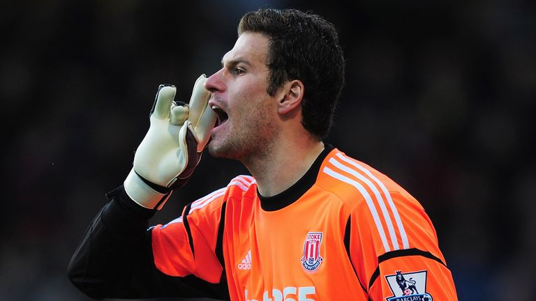Asmir Begovic: Speculation suggests he will be on his way out of Stoke in the summer