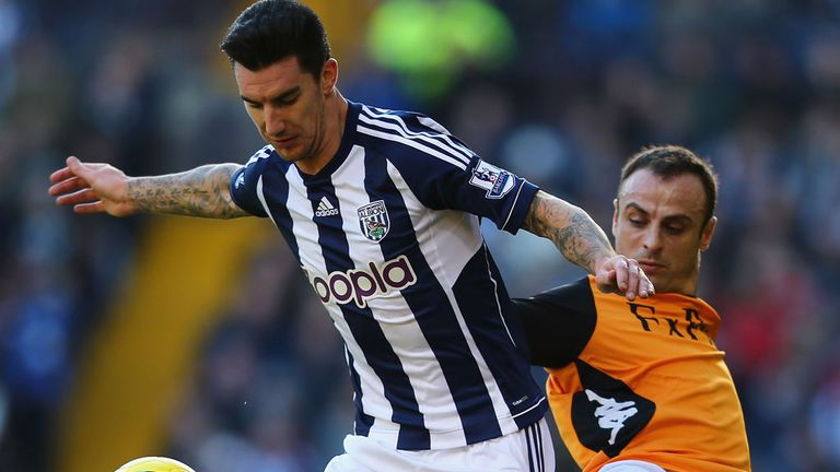 Liam Ridgewell: Set to return from injury for this weekend's clash against Newcastle