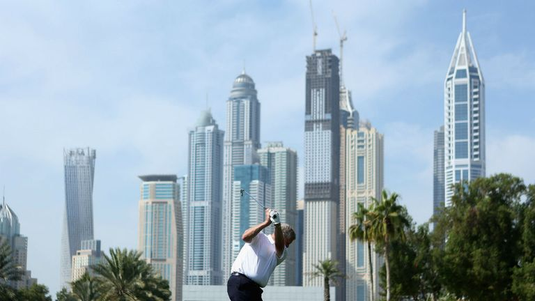 The Emirates Golf Club in Dubai will play host to this week's European Tour event