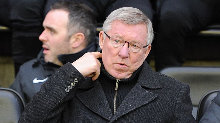 Sir Alex Ferguson: Looking for derby day at Old Trafford to pass without incident