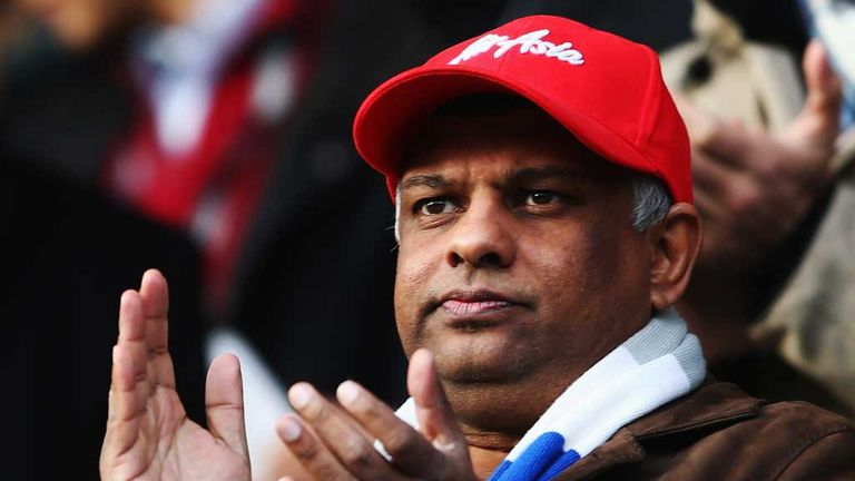 Tony Fernandes: Defends the club's transfer window spending