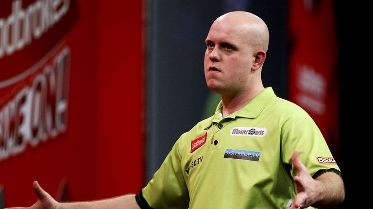 Michael van Gerwen: Assured a place in UK Open in June
