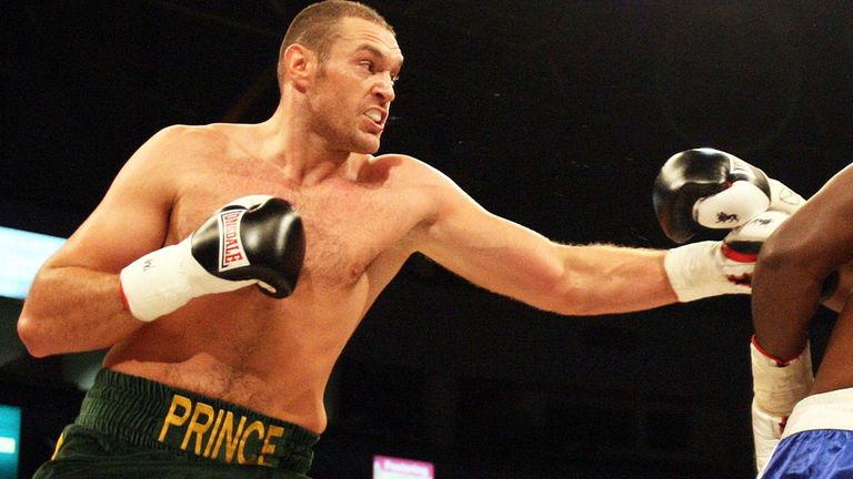 Tyson Fury: Has questioned David Price's punch resistance