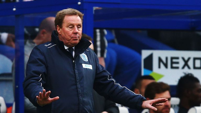 Harry Redknapp: QPR boss pleased with point against his former club