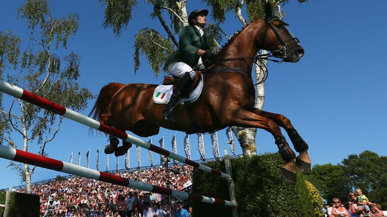 Hickstead Derby: always popular with riders and spectators