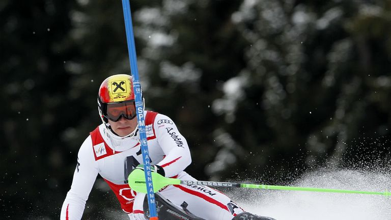 Marcel Hirscher: Won the Kitzbuehel World Cup slalom on Sunday