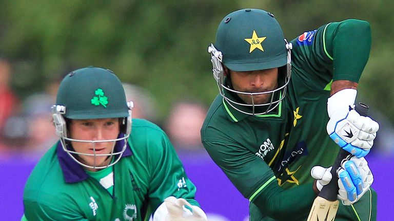 Gary Wilson and Taufeeq Umar: Pakistan won an ODI series against Ireland in 2011