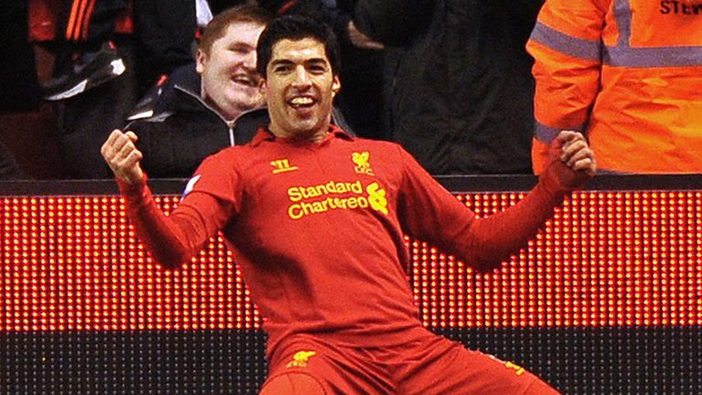 Luis Suarez: Prolific as a central striker this season