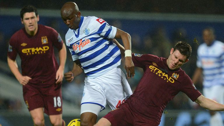 Stephane Mbia: Ready to fight for Premier League survival in remaining games of the season