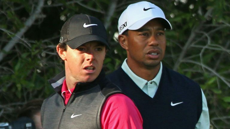 McIlroy and Woods: Three clashes in a row