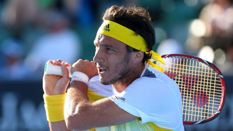 Juan Monaco: Crushed American Robby Ginepri 6-1 6-0 in Houston