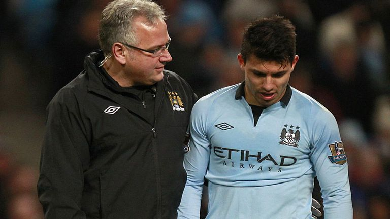 Aguero: the latest name on City's injury list