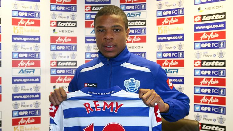 Loic Remy: The Frenchman has said he was excited by the challenge QPR posed rather than the money.