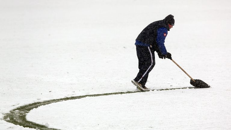Boundary Park: Pitch deemed unplayable