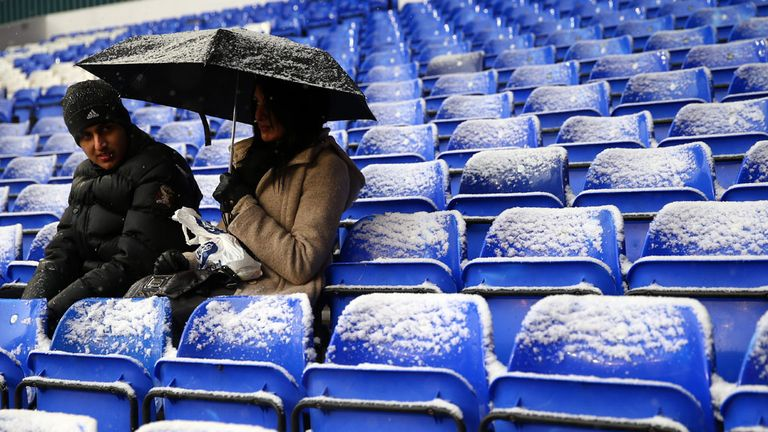 Leicester: Only 8,585 supporters watched the game with Middlesbrough
