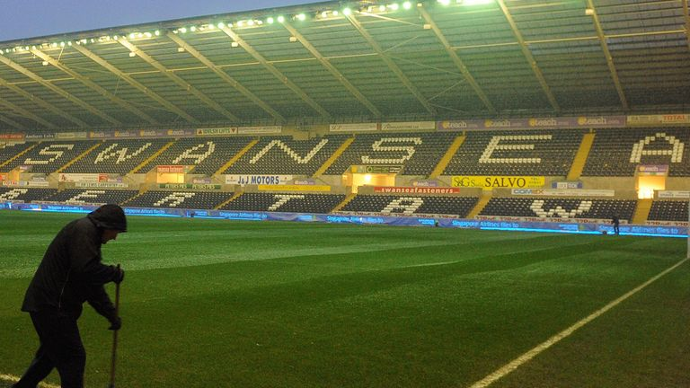 Liberty Stadium: Swansea have announced expansion plans