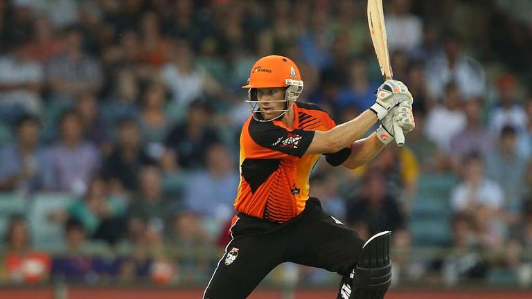 Voges: Played his part with the bat