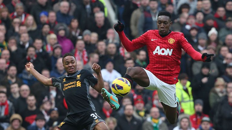 Danny Welbeck: Manchester United striker learning from Robin van Persie