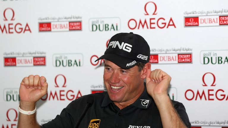 Lee Westwood: Looking to make a fast start to his 2013 season in Dubai