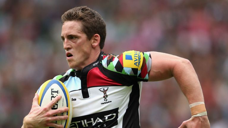Tom Williams: Delighted to be staying with Harlequins