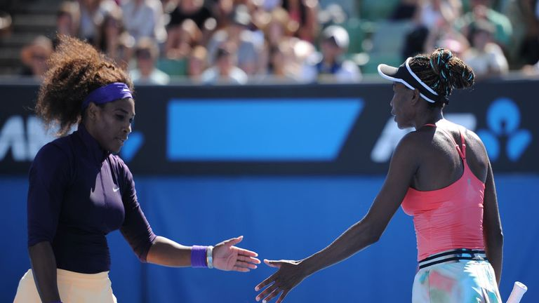Serena and Venus Williams: The sisters have pulled out of the doubles