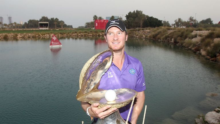 Chris Wood: Spectacular eagle at the last to clinch first European Tour victory