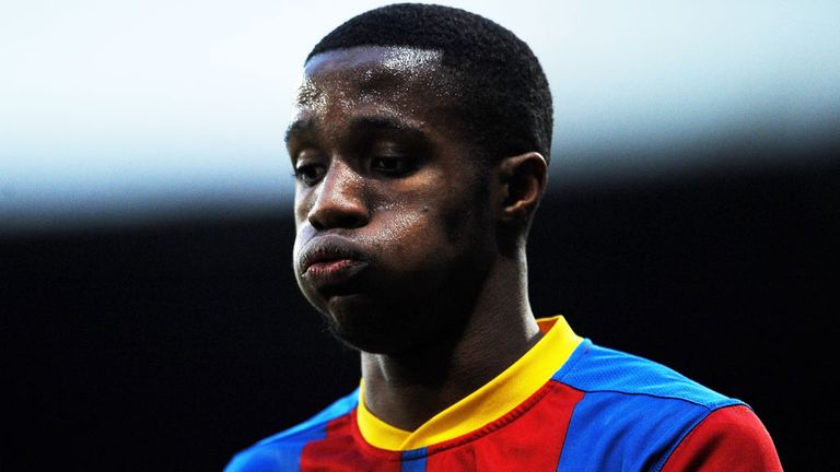 Wilfried Zaha: Apologised to Leeds supporters
