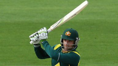 Phil Hughes: Hit 138 off 154 deliveries
