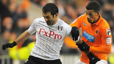 Giorgos Karagounis: Set to leave Fulham