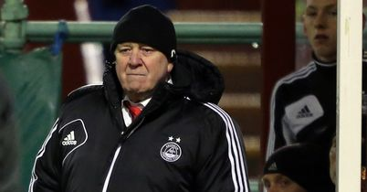 Craig Brown: Aberdeen boss said his side were well beaten