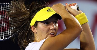 Laura Robson: Lost out to Sloane Stephens