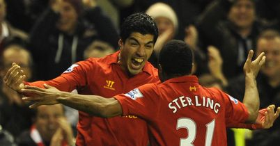 Luis Suarez and Raheem Sterling were in the goals for Liverpool on Wednesday night.