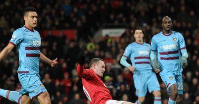 Wayne Rooney: Converted Javier Hernandez's cross