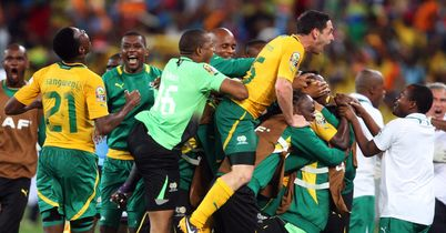 South Africa reach q-finals