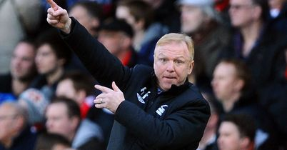 Alex McLeish: Forest boss has bolstered his goalkeeping options