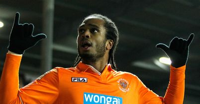 Nathan Delfouneso: Pushing for Blackpool start