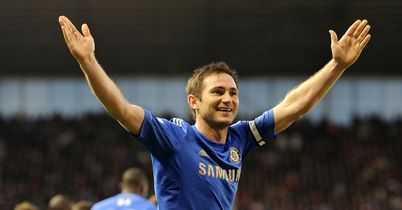 Frank Lampard: Delivered a supreme midfield performance against Stoke