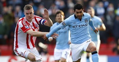 Man City had to battle hard for their 1-0 victory over Stoke in the FA Cup