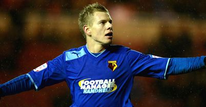 Matej Vydra: Scored his 20th goal of the season as Watford go second
