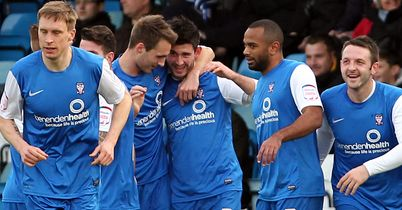 York City: Celebrate Charlie Lee's own goal at Gillingham