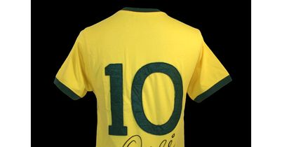 Pele Signed Shirt