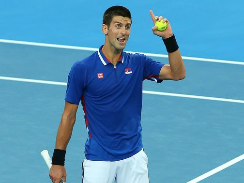 Novak Djokovic: Defending champion at Melbourne Park