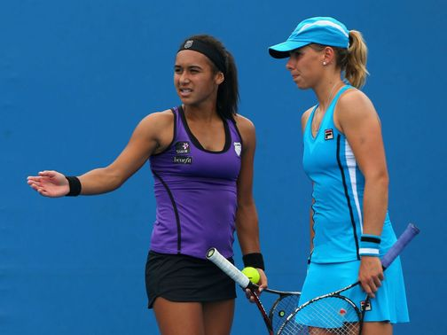 Heather Watson and Marina Erakovic lost out