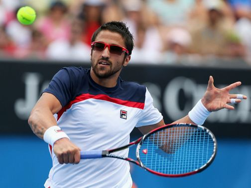 Janko Tipsarevic: Involved in another gruelling match