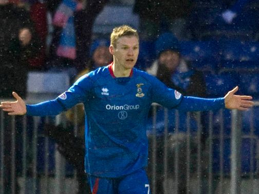 Billy McKay scored two goals for Inverness