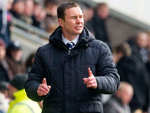 Derek Adams: Pleased with his men