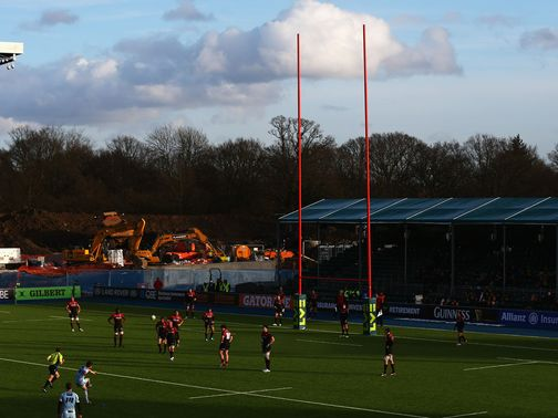 Saracens started life at Allianz Park with a victory