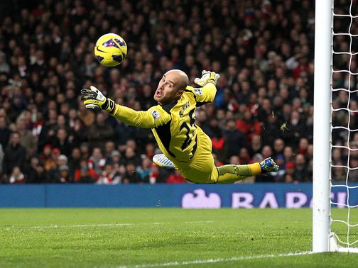 Reina says the support of the fans will be cruical in overcoming Zenit