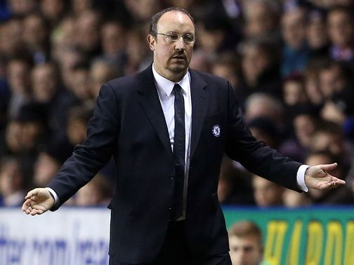 Rafael Benitez: Hoping to continue recent momenttum