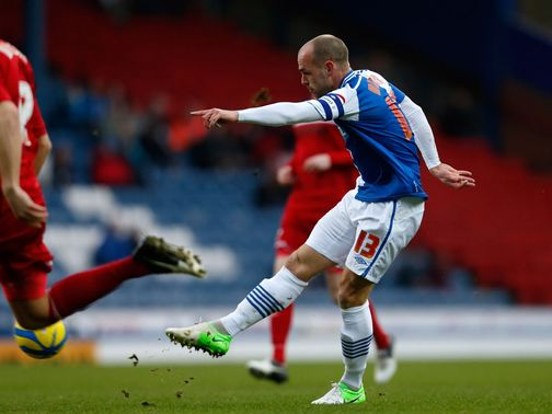 Danny Murphy gives Blackburn the lead